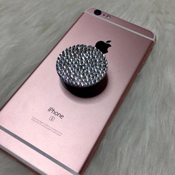 Swarovski Crystal Bling PopSocket Cell Phone Grip 7c7e3e3b7